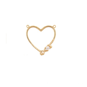 Bottom price for Teddy Bear K Gold Pendant 2018 Model Pendant with zircon supply to Wallis And Futuna Islands Supplier