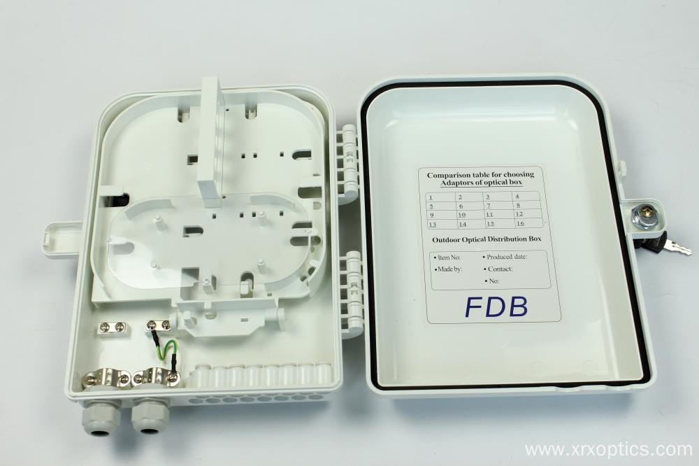 Fiber Optical ABS PC Distribution Box 16C