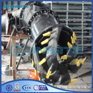 Marine dredge cutter heads