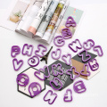 plastic alphabet cookie cutter set