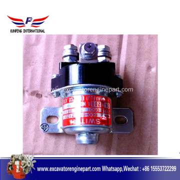 Customized for Komatsu Engine Part komatsu Engine Part Relay Switch 600-815-2170 supply to Paraguay Factory