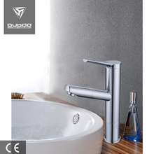 Factory directly provided for Pull Out Basin Faucet Zinc alloy chromed CUPC parts bathroom wash faucet supply to Portugal Factories