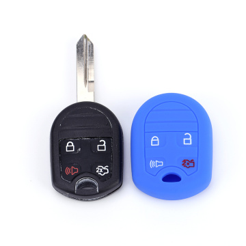 Silicone key cover for mustang explorer