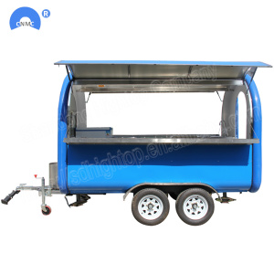 Çift Servis Snack Makinesi Moible Food Trailer