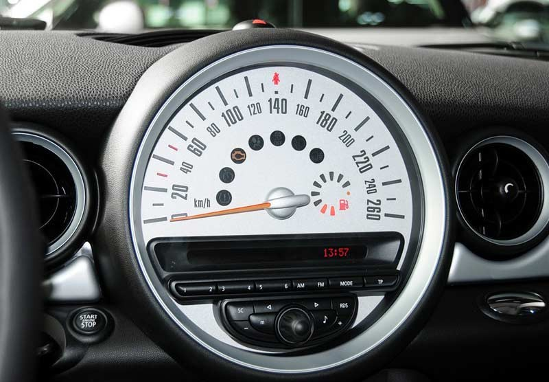 Original Mini Cooper Dashboard