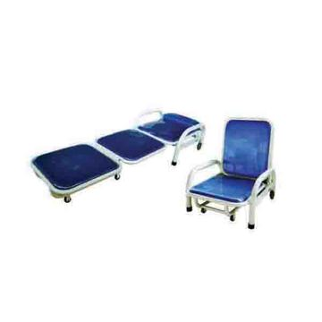 Steel spray bed bedside escort chair