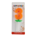 SRL30001 5CM Height Colored Party Celebrated Candle
