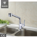 Single lever brass sink kitchen faucet