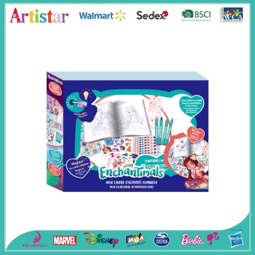 ENCHANTIMALS creativity coloring set