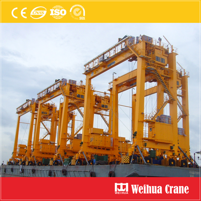 Rubber Tyre Gantry Crane Shipping