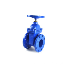 Chinese supplier epdm lined din pn16 cast iron 3 gate valve handle
