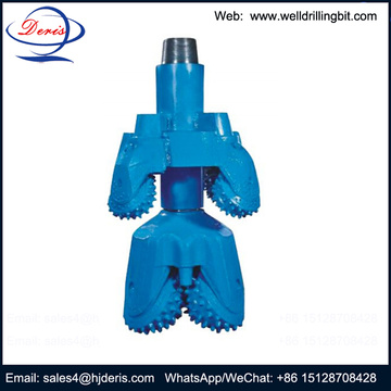 TCI cutters roller cone hole opener well drilling