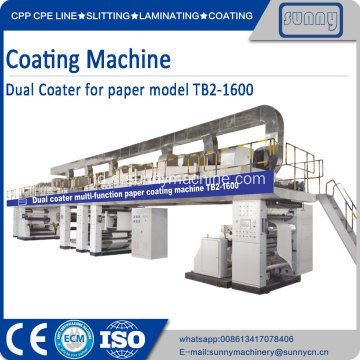 Lapisan duplex head multifungsi pape coating machine