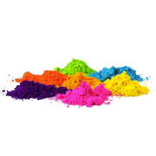 Cornstarch nature fun Holi Gulal powder with popper