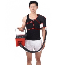 Physical cold therapy device cryo compression therapy unit