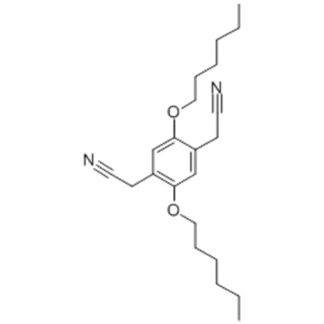 1,4-Benzenediacetonitrile,2,5-bis(hexyloxy)- CAS 151903-53-6