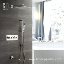Popular Design for China Thermostatic Shower Faucet,Single Handle Thermostatic Shower Faucet,Bathroom Thermostatic Shower Faucet Supplier HIDEEP Bathroom Shower Thermostatic Bath Shower Faucet export to Armenia Exporter