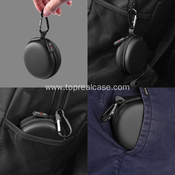 Protable earphone storage box carrying case