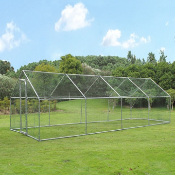 Cheap Hexagonal Chicken Run