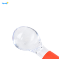 Plastic Colored Hard Ice Cream Scoop Size