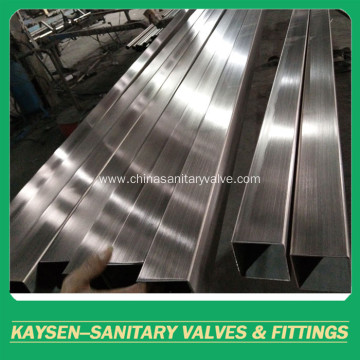 316 Stainless Steel Square Tubes ASTM A554