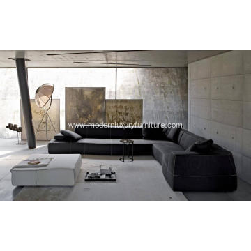 Special Design for Fashion Modern Sofa Modern Furniture B&B Italia Bend Sofa Replica supply to South Korea Exporter