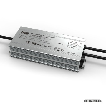 100W 30-50Vdc High Voltage 480Vac LED Treiber
