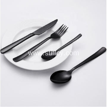 Black Stainless Steel Cutlery