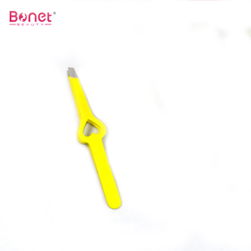 Hollow Out Heart Shape Girl Eyebrow Tweezer