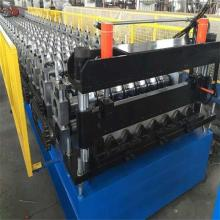 Super Lowest Price for Steel Trapezoid Roof Sheet Forming Machine color steel trapezoidal tile cold roll forming machine supply to United States Manufacturers