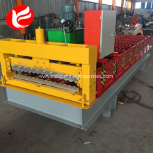 Good Quality for Corrugated Roof  Roll Forming Machine Plate corrugated iron roof sheet steel sheet making machine export to United Arab Emirates Factory