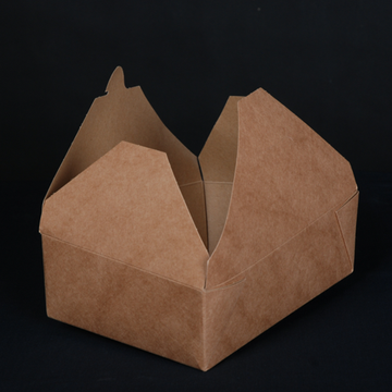 Take away food packaging boxes coated PE