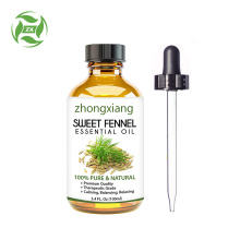 100% pure organic Sweet Fennel essential Oil