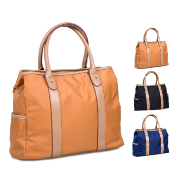 Latest Design Ladies Nylon Leather Hand Bags Handbag