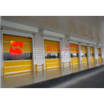 Warehouse PVC Fast Internal Roller Shutter  Door