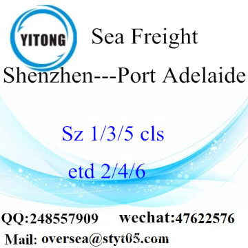 Shenzhen Port LCL Consolidation To Port Adelaide