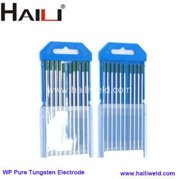 Green tip 3.2*175MM WP tig welding electrodes tungsten