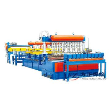 Galvanized Garden Fence Wire Mesh Machine