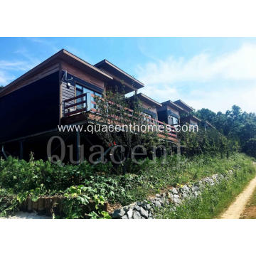 Customized Wood Structure Frame Modern House Prefab Houses