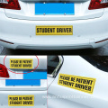 Reflective Magnet Student Driver Car Sticker