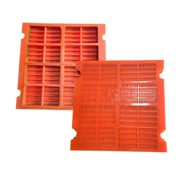 Mining and Quarry Polyurethane dewatering screen mesh