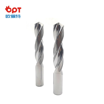 Superior solid carbide drill bits for hardened steel