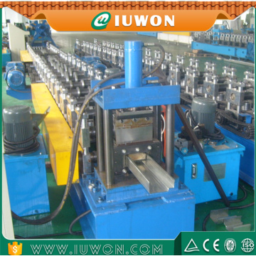 China for Door Frame Roll Forming Line Popular Steel Metal Door Making Forming Machine supply to Paraguay Exporter