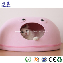 Customized for  Felt cat bed round shape fashion design supply to United States Wholesale
