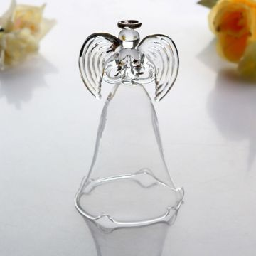 Christmas Glass Ornament Angel Shape Ornament