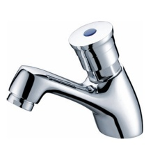Good Quality for Push Down Basin Faucet Self Closing Lavatory Taps supply to Portugal Manufacturer