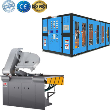 Energy saving induction heat treatment furnace machine