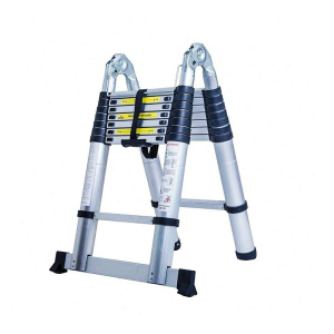 Aluminum joint double side ladder
