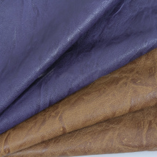 Best-Selling for Pu Leather For Furniture Thin woven PU leather for shoes export to Spain Factory
