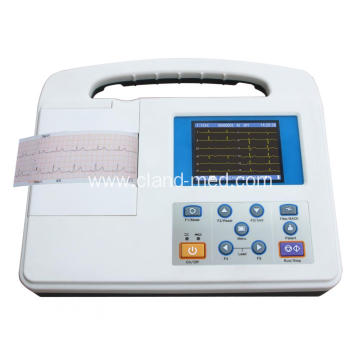 Cheap New Hospital Medical Electrocardiograph(ECG )1-Channel
